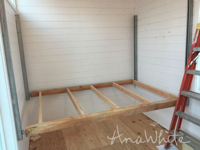 Ana White Diy Elevator Bed Tiny House Projects