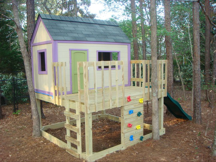 Ana White Playhouse Slide Diy Projects