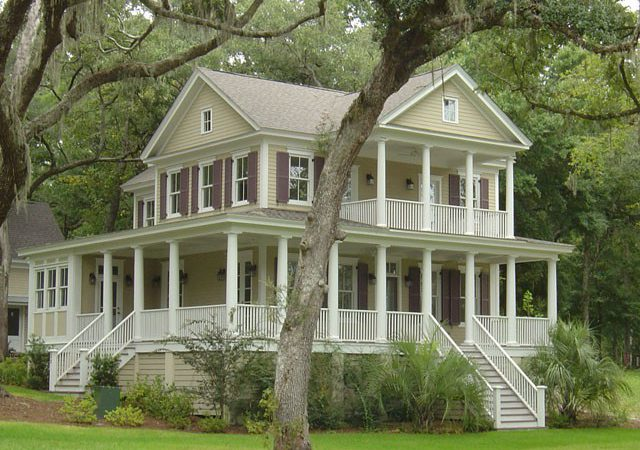 Antebellum House Plans Southern Living