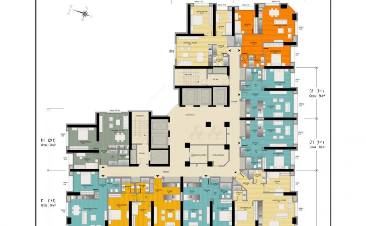 Anthill Residence Apartment Plans