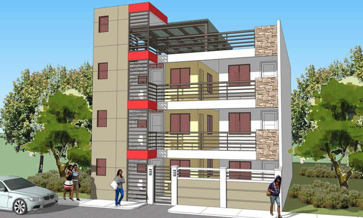 Apartment Block Philippines Realty Projects