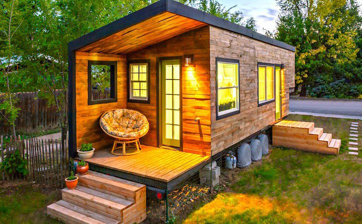 Architect Builds Tiny Square Foot Dream House