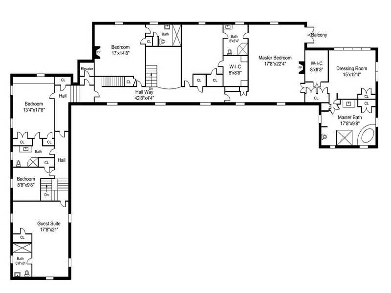 Architecture Shaped House Floor Plans