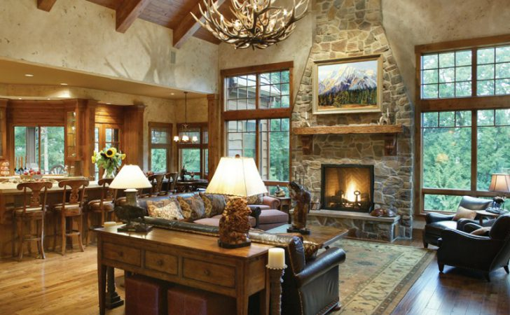 Arts Crafts House Plan Great Room