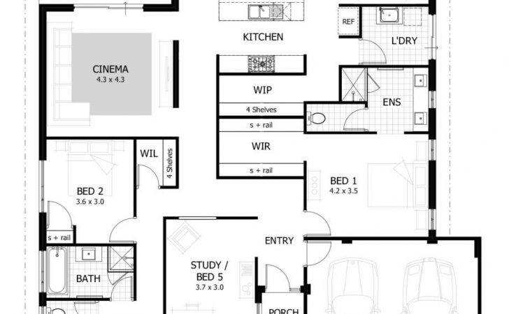 Bedroom House Plans Timber Frame Houses Simple Ideas