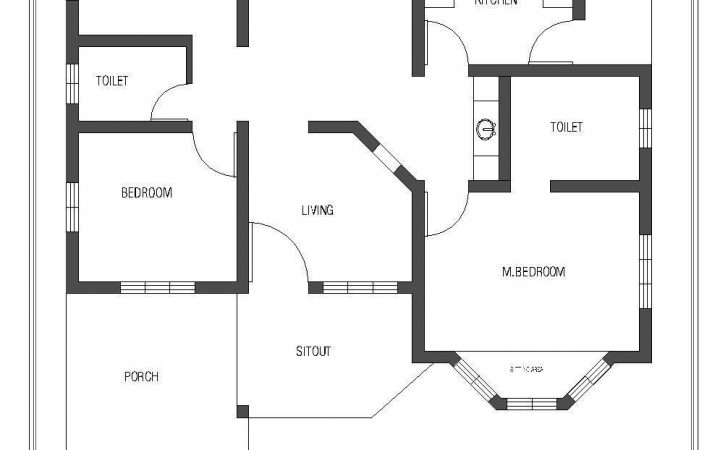 Bedroom Single Story House Plans Home Interior