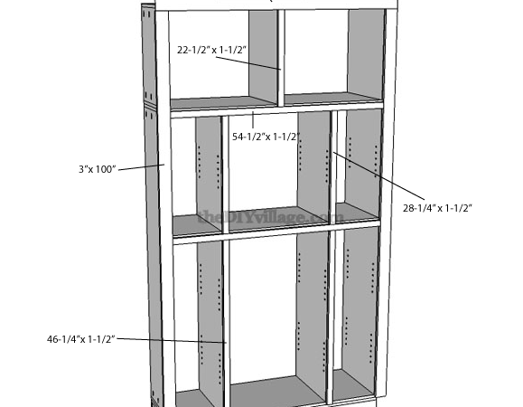 Build Pantry Part Cabinet Plans Included