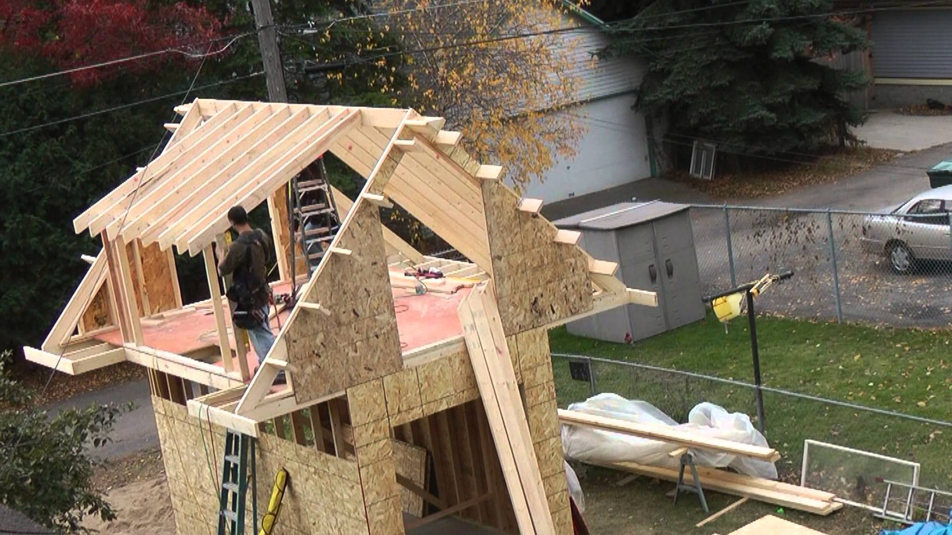 Building Shed Youtube
