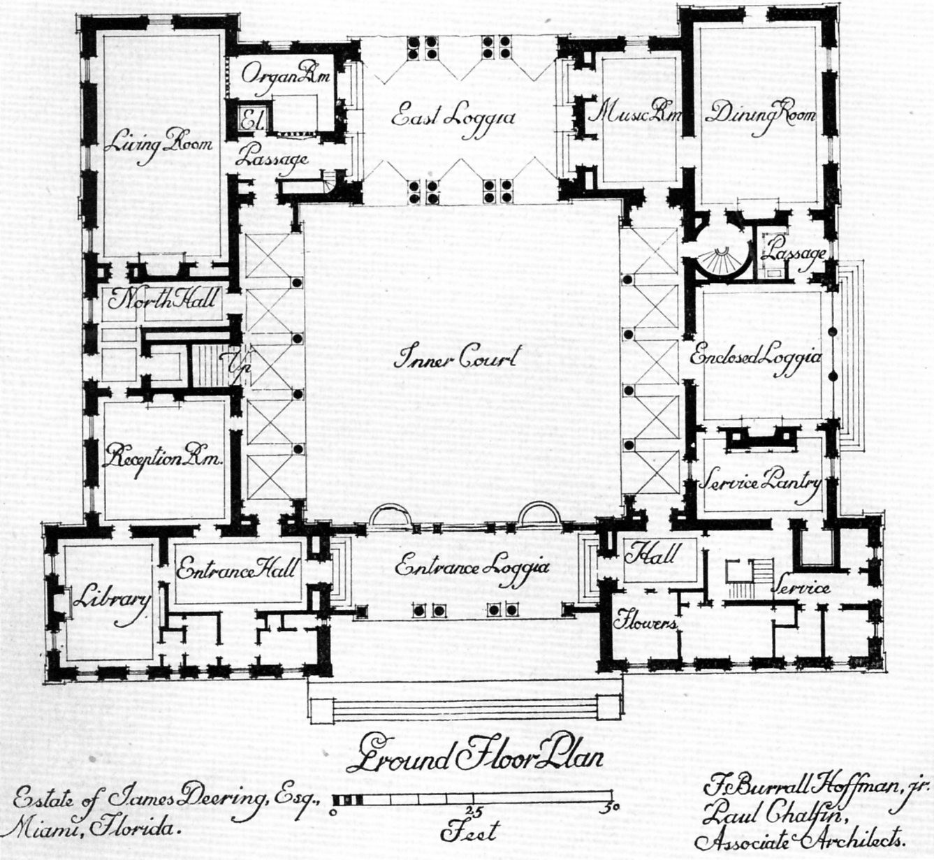 Central Courtyard House Plans Find