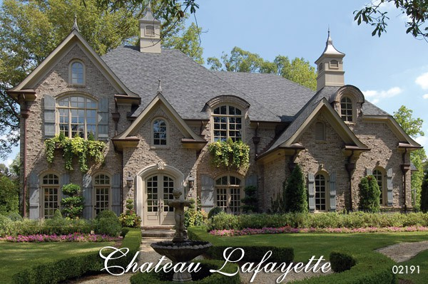 Chateau Lafayette French Country House Plan