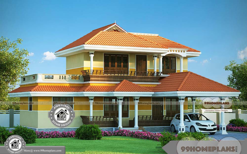 Cheap Two Storey Homes Traditional Patterned House