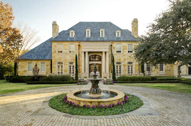 Classic Country French Manor Dallas Homes Rich