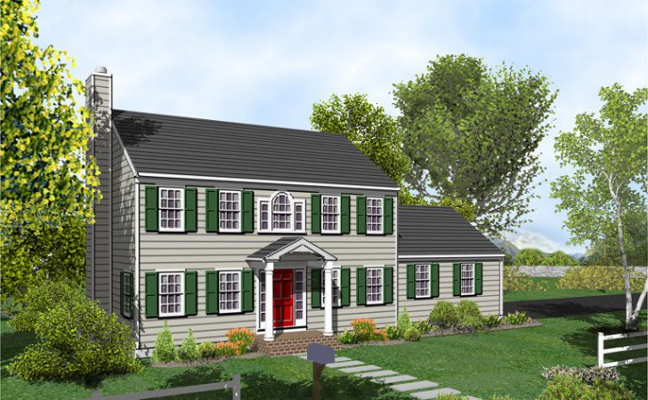 Colonial House Plan Posey Home Plans Sale