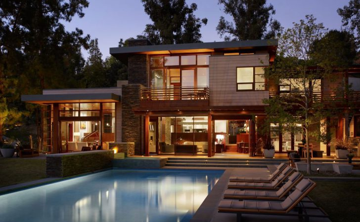 Contemporary Home Brentwood Rockefeller Architects