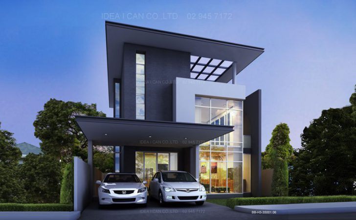 Contemporary Two Story House Plans Interior Decorating