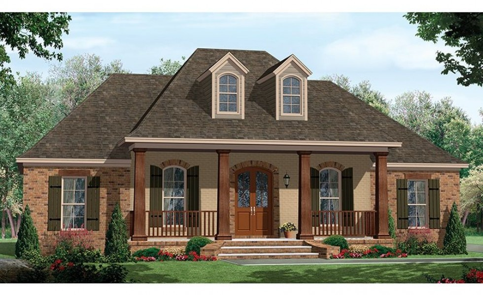 Cool One Story House Plans Porches Building