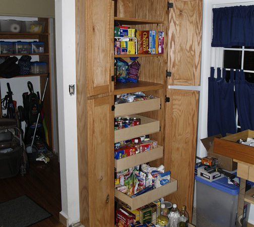 Country Kitchen Pantry Cabinet Building Plans Floor