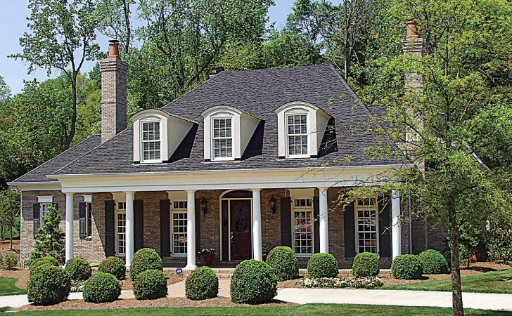 Country Plantation Style House Plan Floor