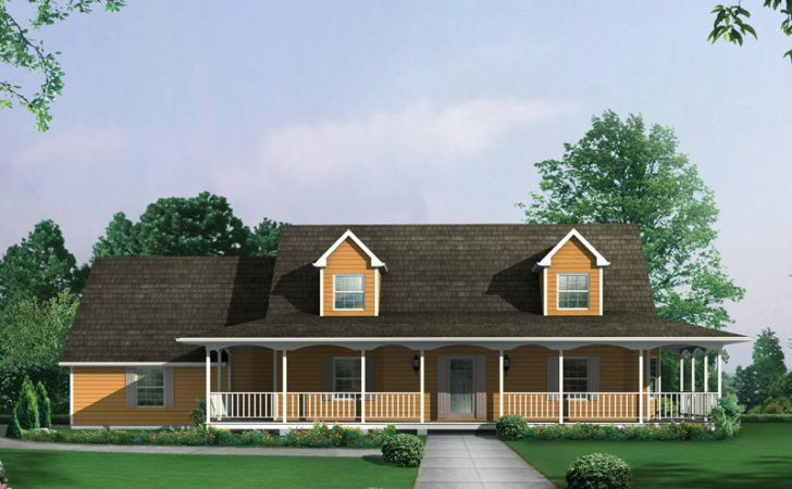 Country Ranch Farmhouse Plan House Plans More