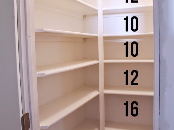 Craft Patch Build Pantry Shelves