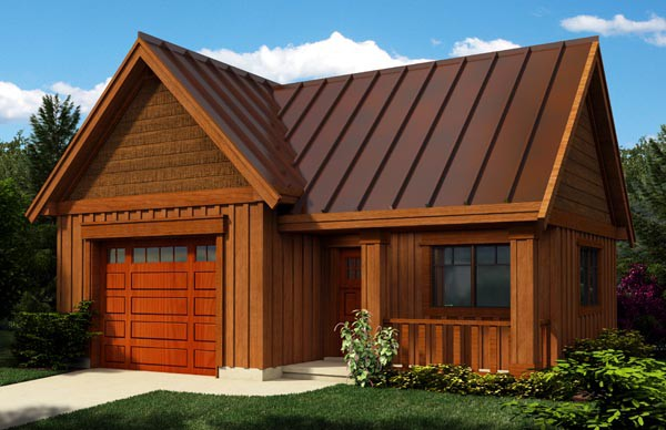 Craftsman Garage Plan House Plans