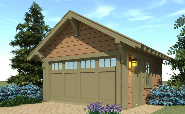 Craftsman Garage Plan Tyree House Plans