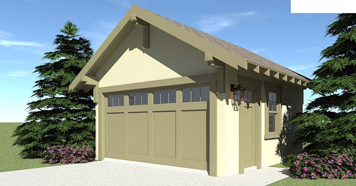 Craftsman Garage Plan