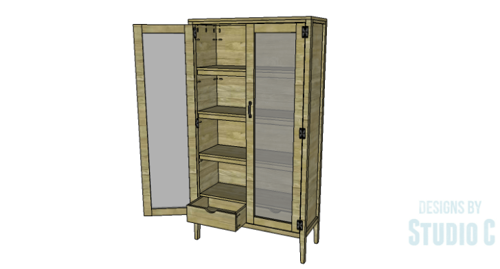 Easy Build Pantry Tons Storage Designs