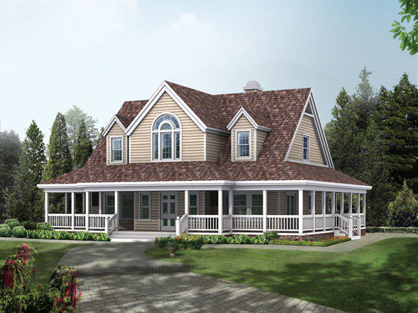Elliot Spring Southern Home Plan House Plans
