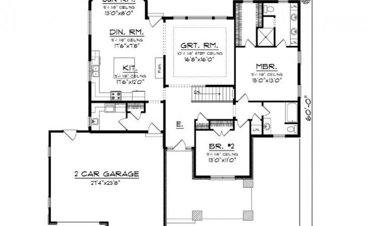 Empty Nester Home Plans House Plan Ideal