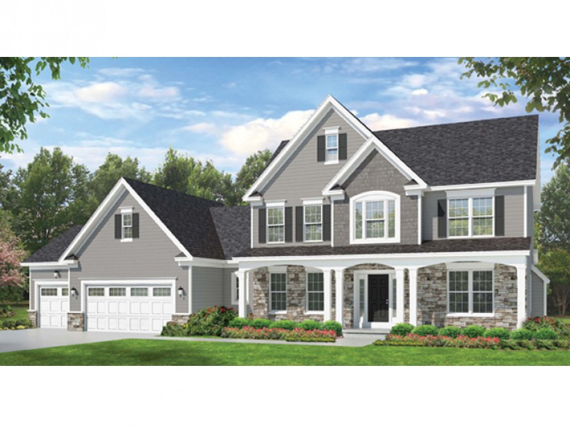 Eplans Colonial House Plan Space Counts