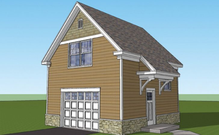 Eplans Craftsman Garage Plan Studio