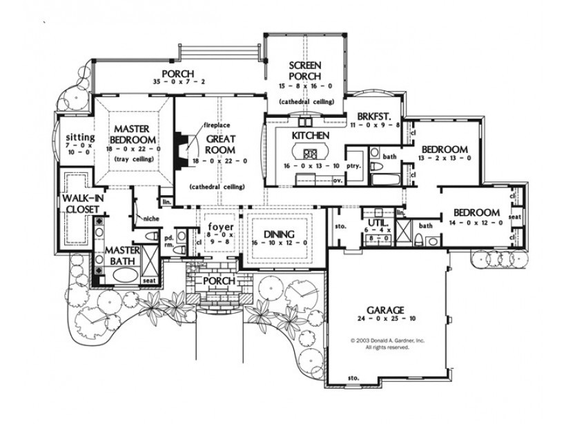 Eplans European House Plan One Story Luxury Square