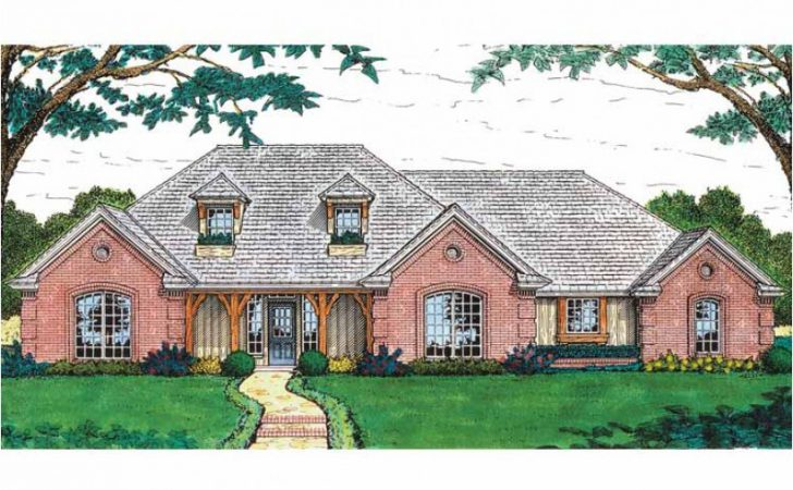 Eplans French Country House Plan European Rustic Charm