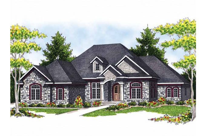 Eplans French Country House Plan Single Level Rustic