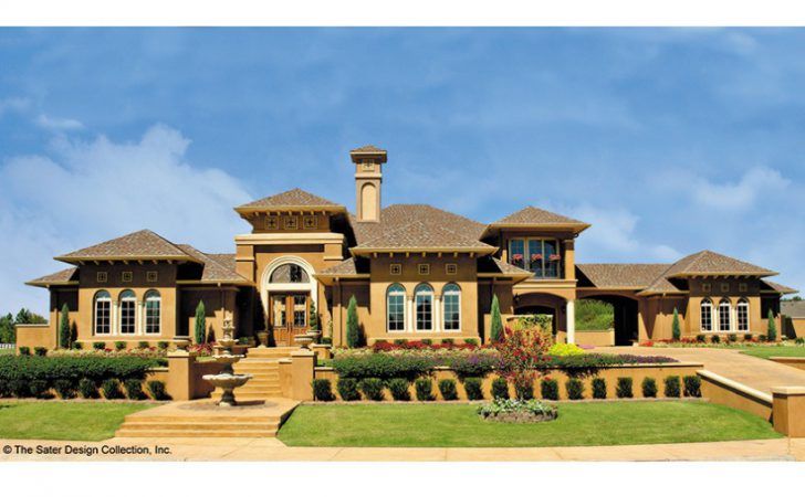 Eplans Italianate House Plan Mediterranean Influences