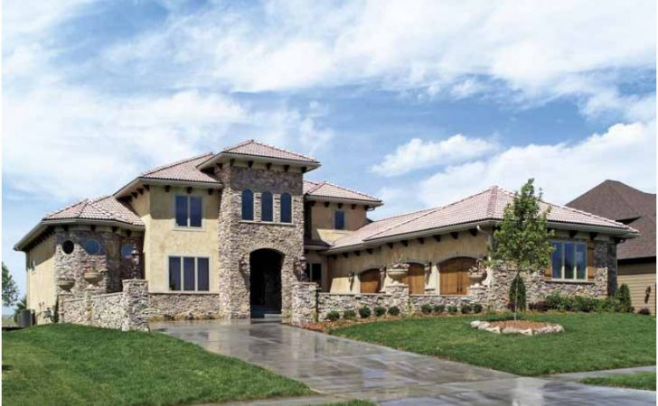 Eplans Mediterranean House Plan Tuscan Style Home
