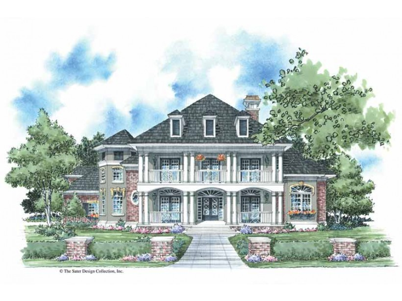 Eplans Plantation House Plan Classic Style