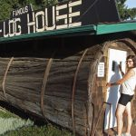 Famous Redwood One Log House