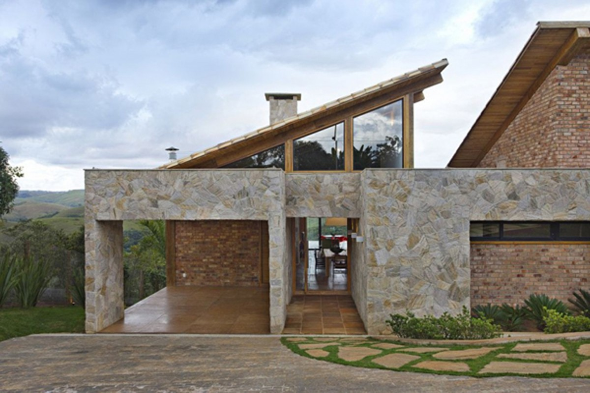 Fascinating Stone House Exterior Plans Iroonie