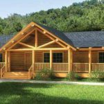 Finally One Story Log Home Has All
