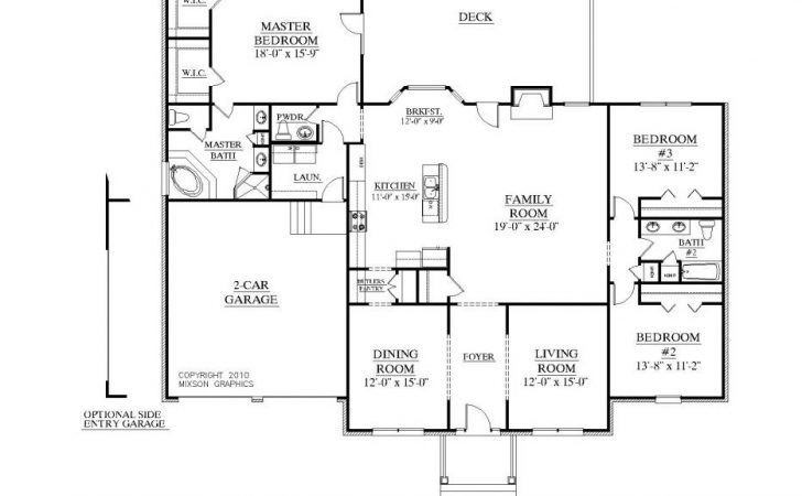 Floor Plan Square Foot Plans House Elevation