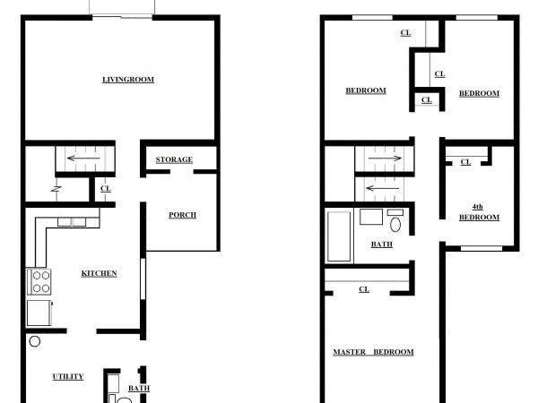 Four Bedroom Townhouse