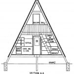 Frame Cabin Plan Bedrooms