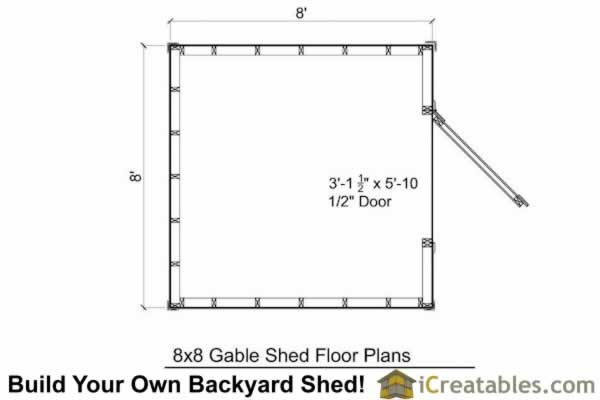 Gambrel Shed Plans Icreatables