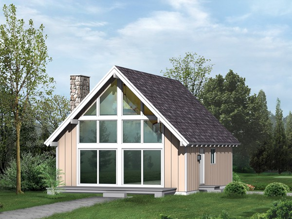 Greeley Cove Vacation Home Plan House Plans