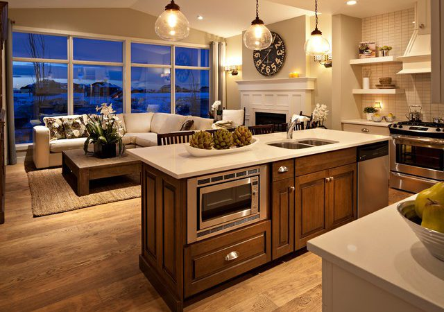 Hawthorne Kitchen Great Room Dusk Traditional