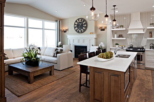 Hawthorne Kitchen Great Room Traditional