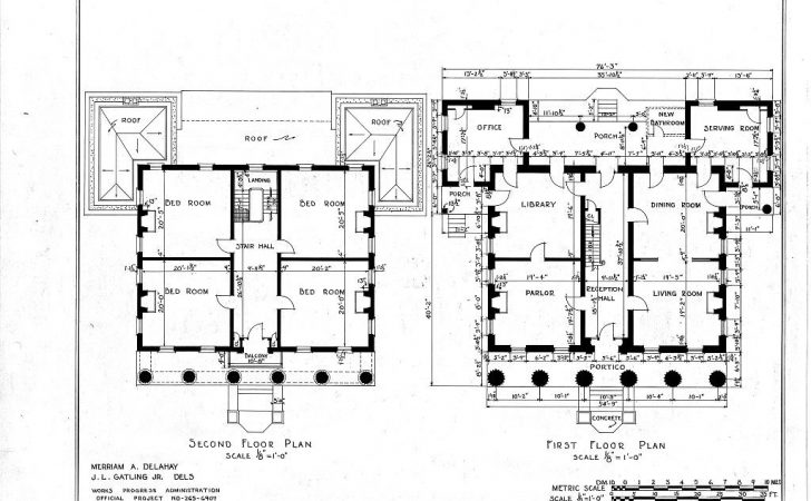 Historic Home Plans Styles American Architecture