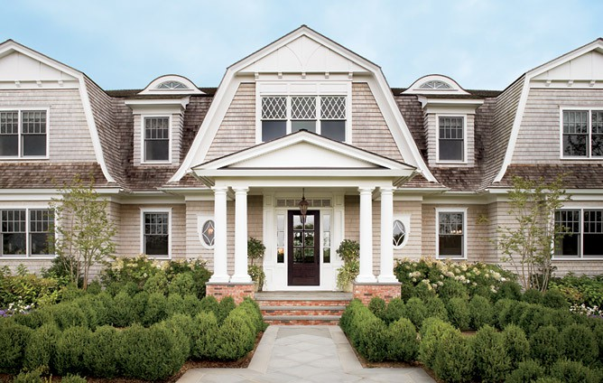 Hollywood Cape Cod Gambrel Roof Lines